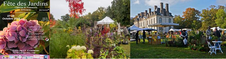 Fête des jardin Château de pommorio tréveneuc 27 & 28 octobre 2018
